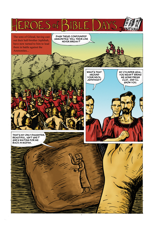 Heroes of Bible Days page 1