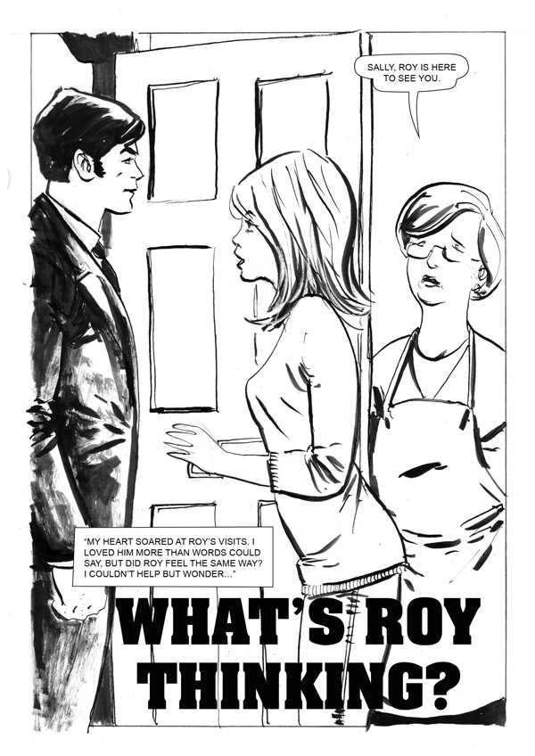 What's Roy Thinking? page 1