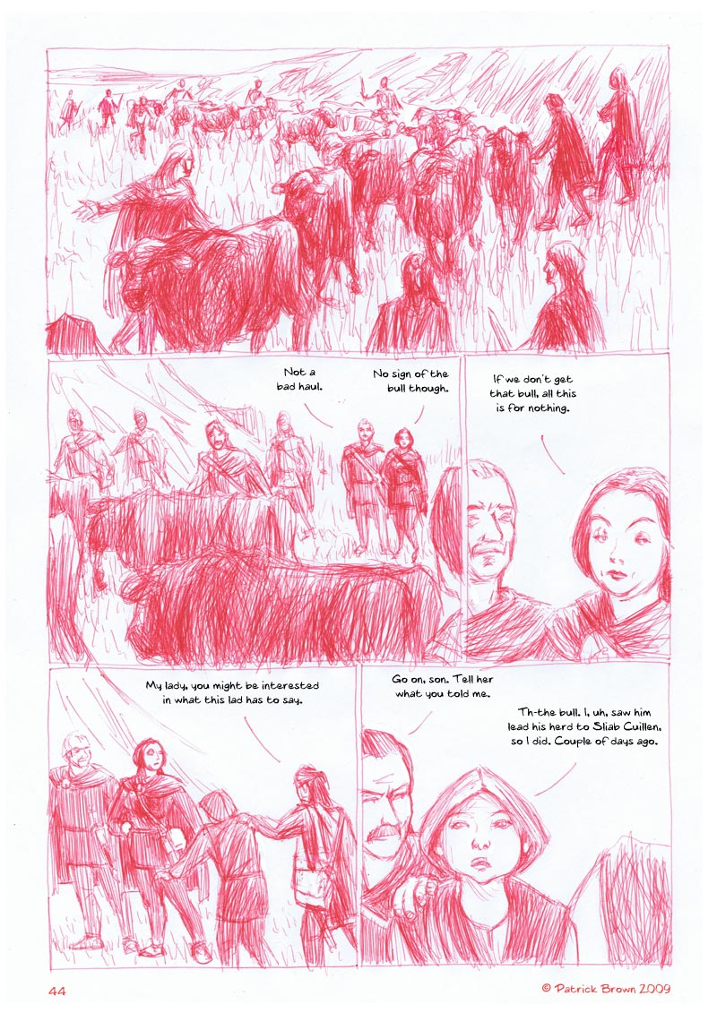 The Cattle Raid of Cooley page 44