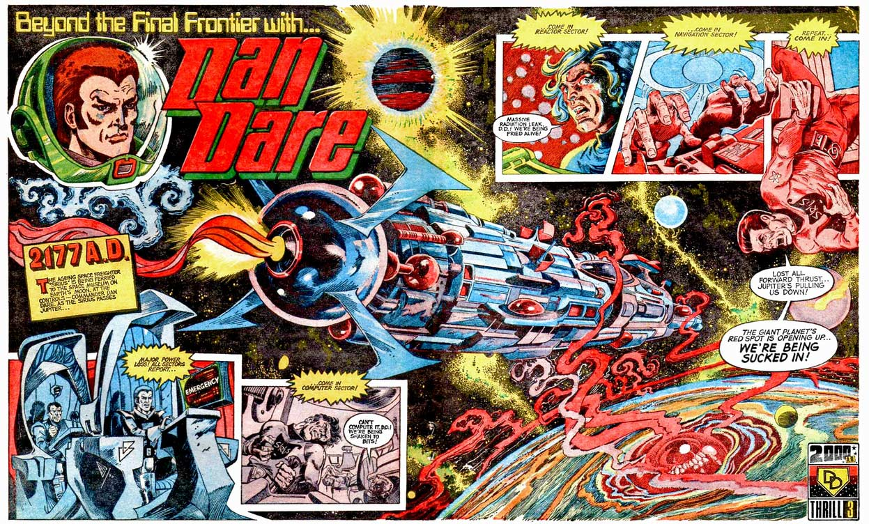 Dan Dare in 2000AD prog 1