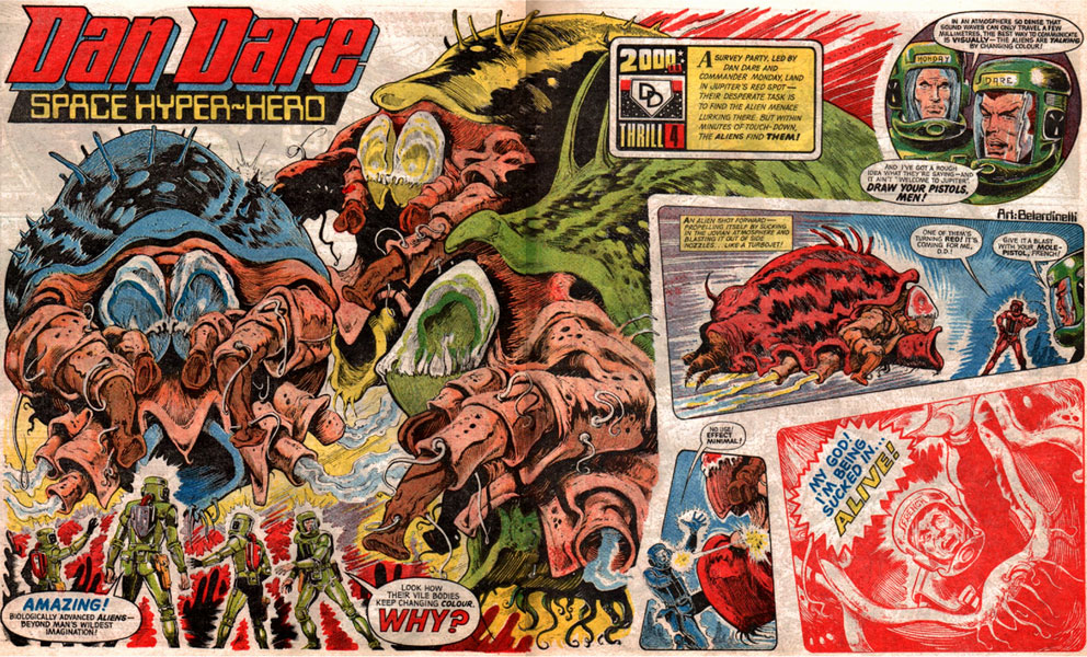 Dan Dare in 2000AD prog 5