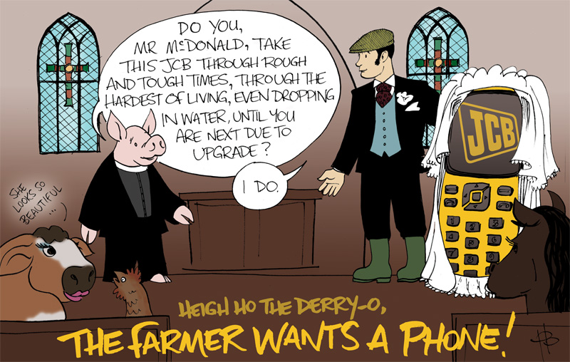 Barclay Communications phone cartoon 3