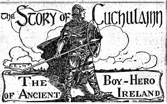 The Story of Cuchulainn by George Monks
