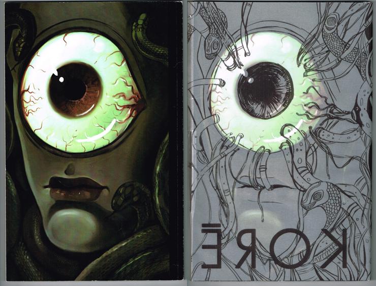 Koré by Anna Fitzpatrick - back cover