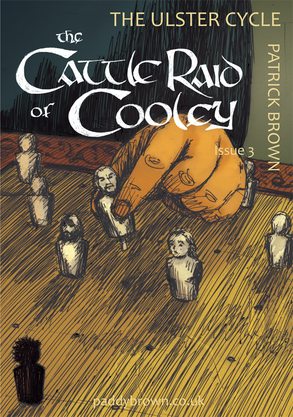 The Cattle Raid of Cooley issue 3