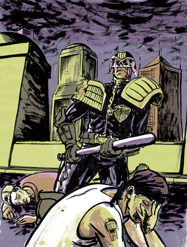Judge Dredd generic cover