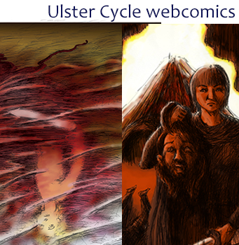 Ulster Cycle webcomics
