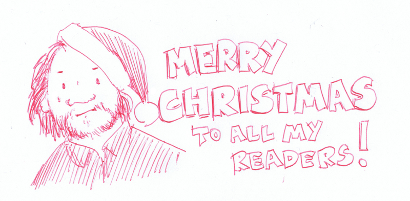 Merry Christmas to all my readers